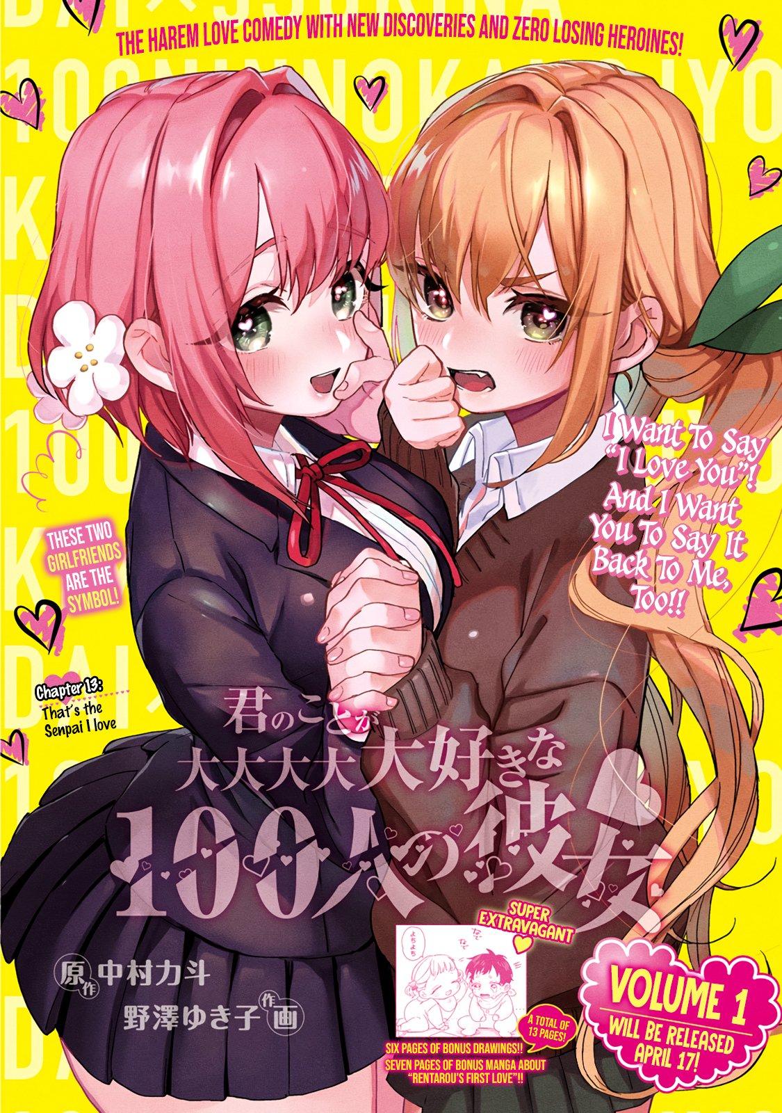 Kimi no Koto ga Dai Dai Dai Dai Daisuki na 100-ri no Kanojo